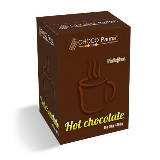 CHOCO Panna Fahéj Forró csokoládé (10x30g)