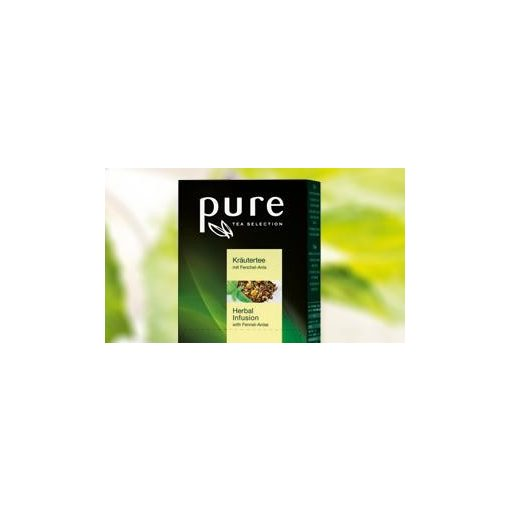 PURE Harmónikus Rooibos herbal tea 25x2,5g egyenként csomagolva aromazáró tasakban