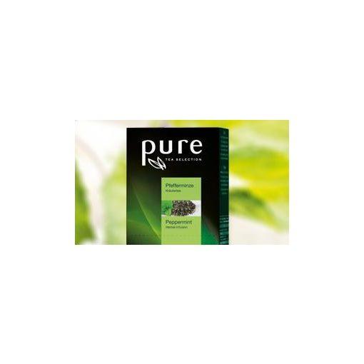 PURE Borsmenta tea 25x2,5g egyenként csomagolva aromazáró tasakban