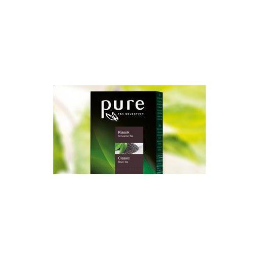 PURE Classic tea 25x2,5g egyenként csomagolva aromazáró tasakban