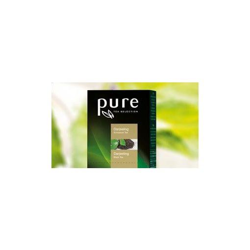 PURE Darjeeling tea 25x2,5g egyenként csomagolva aromazáró tasakban