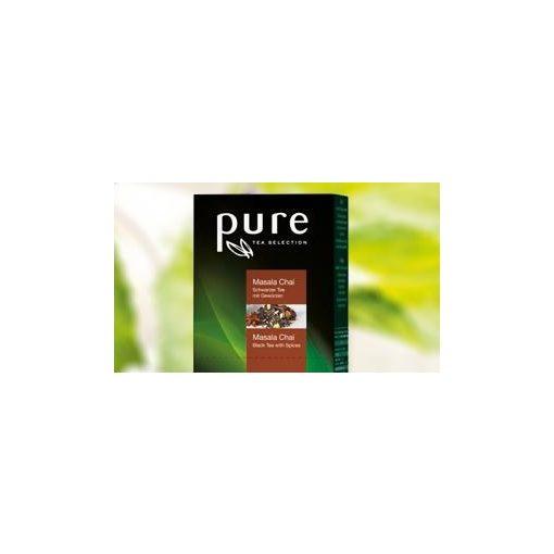 PURE Masala Chai tea 25x2,5g egyenként csomagolva aromazáró tasakban