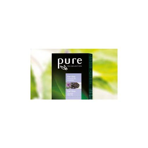 PURE Earl Grey tea 25x2,5g egyenként csomagolva aromazáró tasakban
