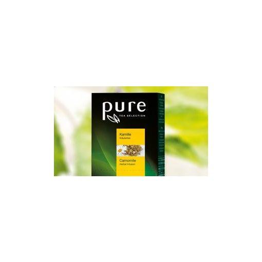 PURE Kamilla tea 20x1,6g egyenként csomagolva aromazáró tasakban